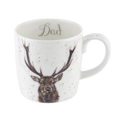Wrendale Stag Mug - Dad