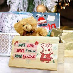 Personalised Peppa Pig™ Christmas Eve Box