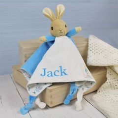 Personalised Peter Rabbit Snuggle Baby Toy