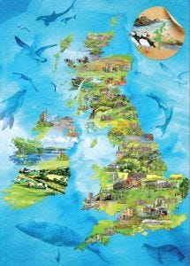 The People's Friend Map Jigsaw Puzzle