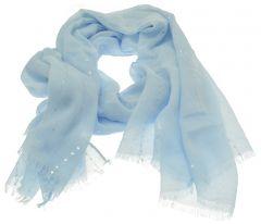 Sky Blue Sequin Scarf