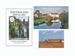 This England Annual, Country Calendar and Desk Diary 2022