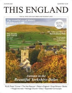 This England single issue - Autumn 2020