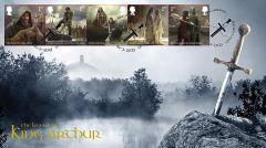 The Legends of King Arthur Stamp Set