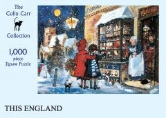 This England Christmas Jigsaw Puzzle