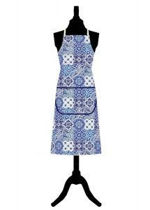 V&A Tiles Cotton Apron