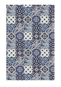 V&A Tiles Cotton Tea Towel
