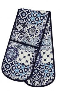 V&A Tiles Double Oven Glove