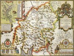 Westmoreland Historical Map 1000 Piece Jigsaw Puzzle (1610)