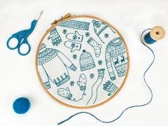 Winter Woolies Christmas Embroidery Kit