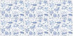 Pimpernel Botanic Blue Placemats Set of 6
