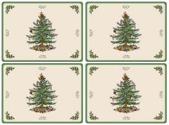 Pimpernel Christmas Tree Placemats - Set of 4
