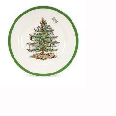 Christmas Tree Side Plates - Set of 4