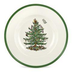 Christmas Tree Soup Plates - Set of 4