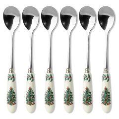 Spode Christmas Tree Tea Spoons - Set of 6