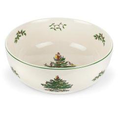 Christmas Tree Serving Bowl