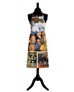Beryl Cook Girls Night Out Cotton Apron
