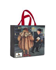Beryl Cook My Fur Coat Medium PVC Bag