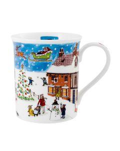 Alison Gardiner Fine Bone China Christmas Mug