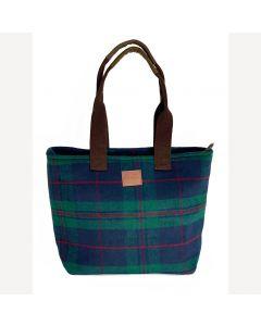 Green Tweed Handbag