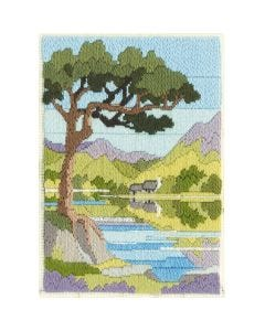 Summer Mountain Long Stitch Kit