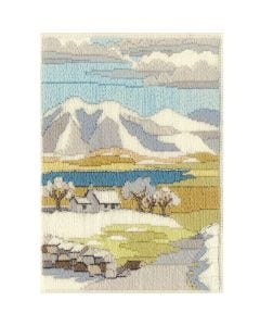 Winter Mountain Long Stitch Kit