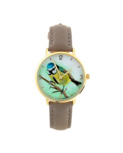 Blue Tit Watch by Anglessey Artist Rachel Hooton