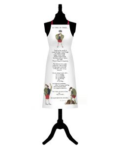 In Times of Stress Cotton Apron