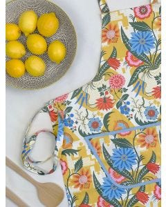 Summer Florals Cotton Apron