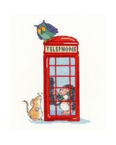 Margaret Sherry Counted Cross Stitch Kit: London Calling
