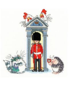 Margaret Sherry Counted Cross Stitch Kit: London on Parade