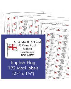 English Address Labels