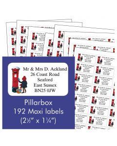 Pillarbox Address Labels