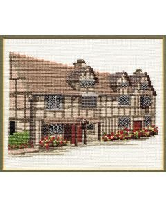 Shakespeare's Birthplace Cross Stitch Kit