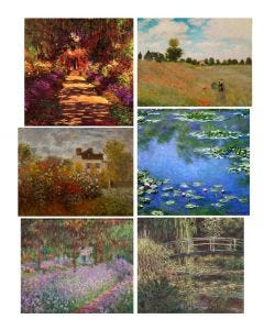 Claude Monet Print Collection