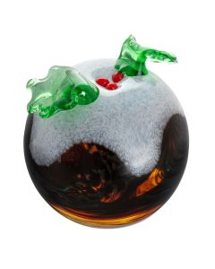 Christmas Pudding Paperweight
