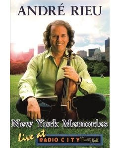 André Rieu: New York Memories DVD