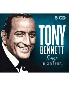 Tony Bennett Sings 100 Great Songs 5-CD Set
