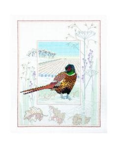 Pheasant Counted Cross-Stitch Kit