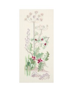 Winter Holly Counted Cross Stitch Kit