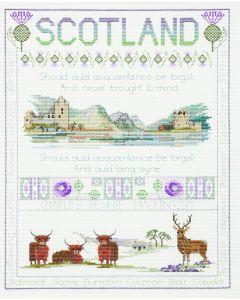 BNWT Counted Cross Stitch  Embroidery Kit Scottish Sampler by Stitchkits