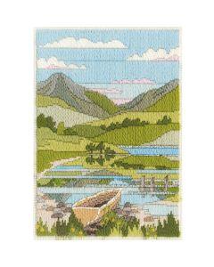 Spring Mountain Long Stitch Kit