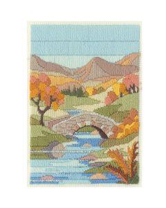 Autumn Mountain Long Stitch Kit