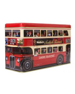 London Bus Walkers Biscuit Tin