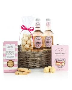 The Pink Gin & Treats Hamper