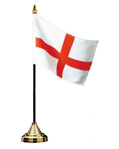 St. George Table Flag