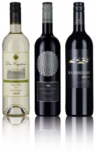 Classic Wine Trio (Red, Red, White)