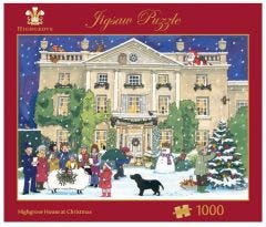 Highgrove House at Christmas Jigsaw Puzzle