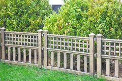 Fence Panels - Bronze