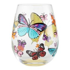 Butterflies Glass